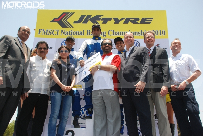 Volkswagen Polo Cup 2010 India Round 1 winners