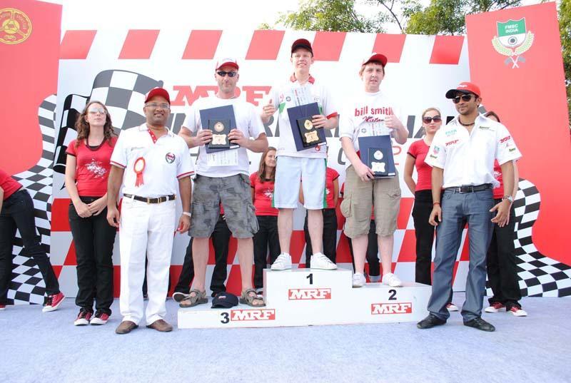 MRF International Challenge 2010 Foreign winners