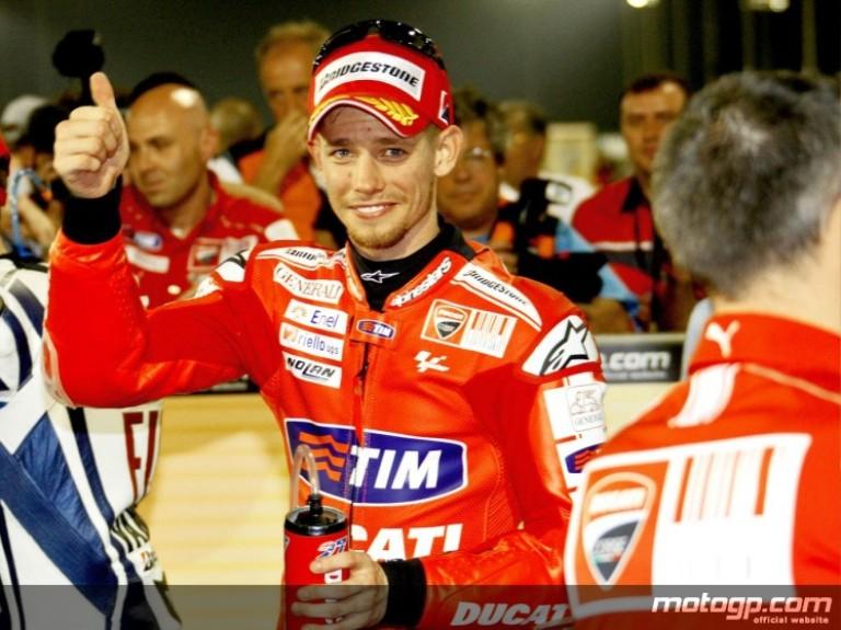 Casey stoner crashed in MotoGP 2010 losail qatar - motoroids.com