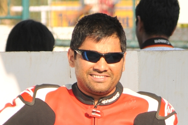 Ramji Govindarajan of Ten10 Racing - www.motoroids.com