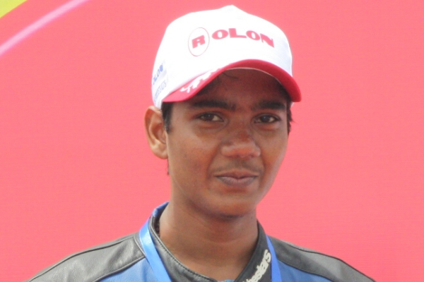 Sarath of Ten10 Racing - www.motoroids.com