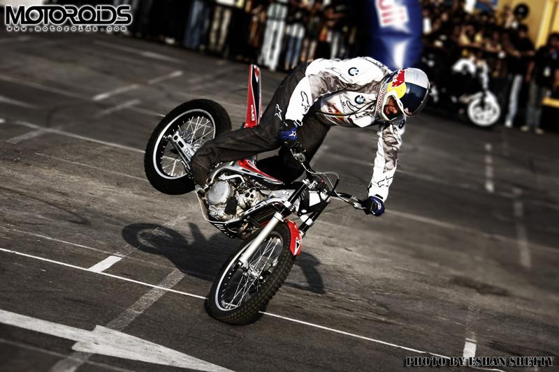 Chris Pfeiffer India Red Bull Motoroids interview - www.motoroids.com