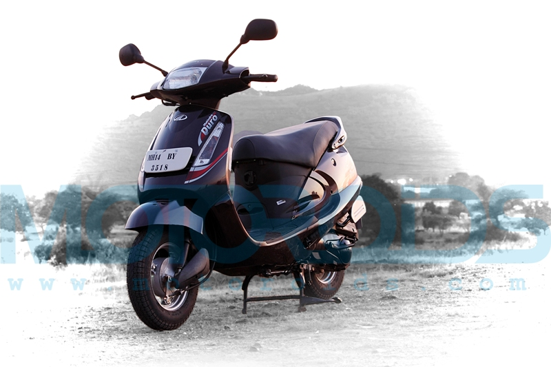 mahindra duro review, mahindra duro details, duro specifications, mahindra 2wheelers, motoroids,