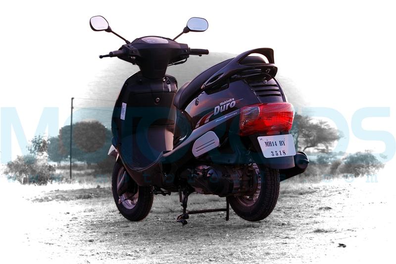 mahindra duro review, mahindra duro details, duro specifications, mahindra 2wheelers, motoroids,