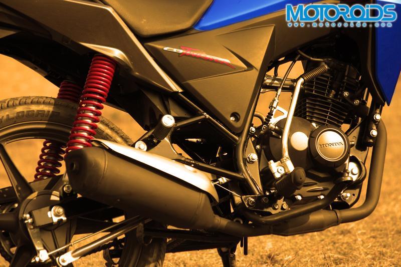 Honda CB Twister First Ride
