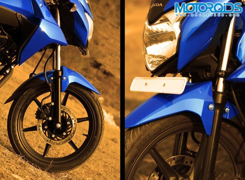 Honda CB Twister - headlight