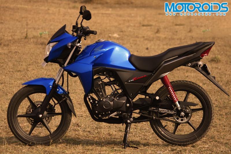 Honda CB Twister - Side View