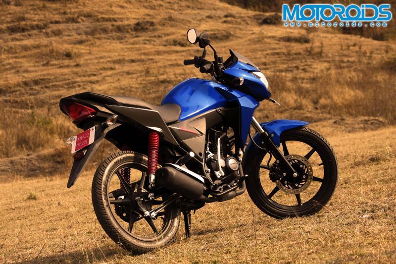 Honda CB Twister - Rear View