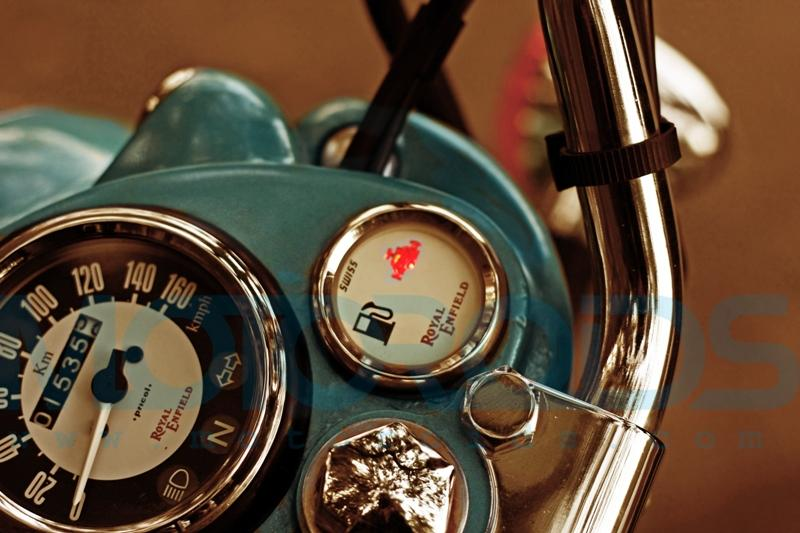 royal enfield classic 500 -new clock features
