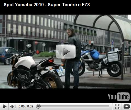 Yamaha FZ8 and Super Ténéré commercial