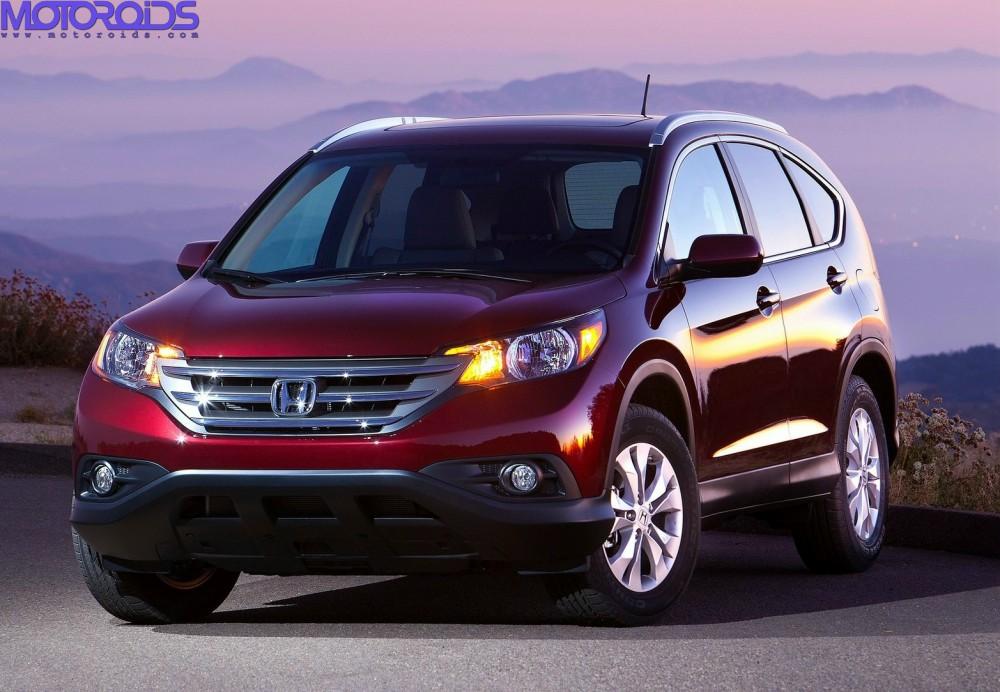 2012 CR-V, New Honda CR-V, Honda CR-V images (1)