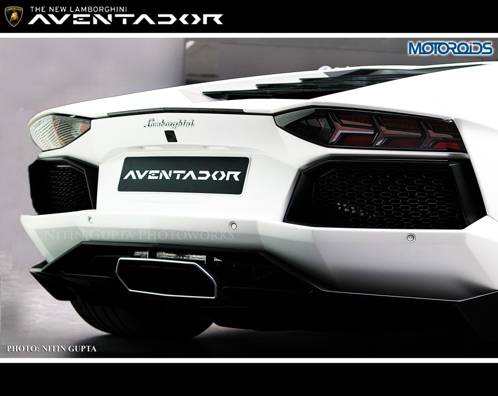 Lamborghini Aventador India (7)