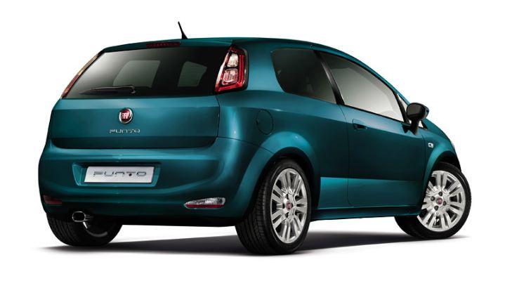 2012 Punto facelift (