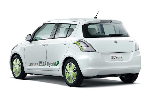 Suzuki swift electric hybrid