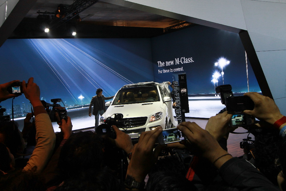 mercedes-Benz at 2011 Auto Expo (7)
