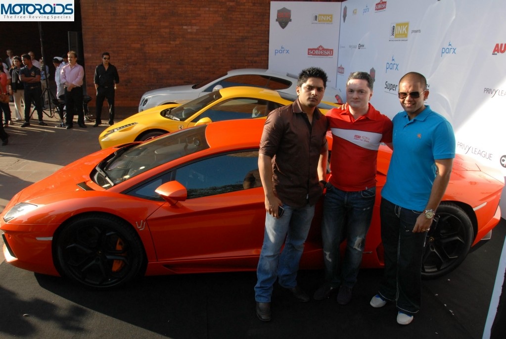 Imtiaz Khatri, Gautam Singhania, and Varun Jain at Parx Super Car Show preview2