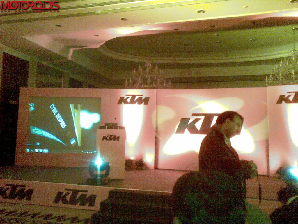 KTM 200 launch venue