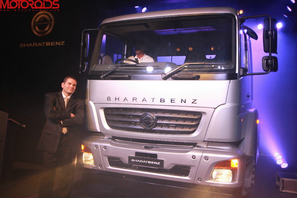 bharatbenz trucks India (5)