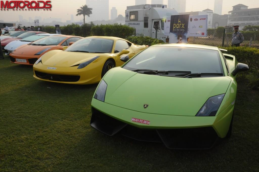 super cars at display during 4th Parx Super Car Show