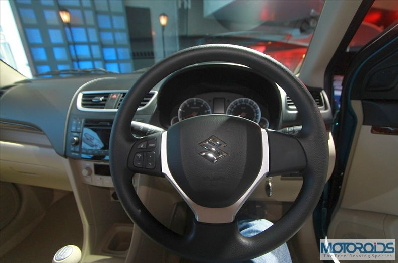 2012 Swift Dzire interior