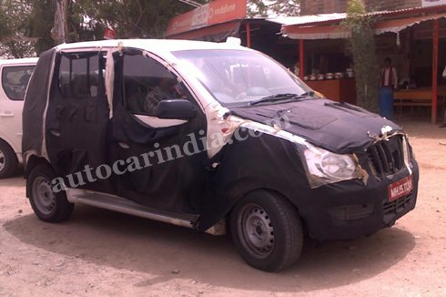 New spy shots with interiors on the 2011 Mahindra 5-seater Xylo mini-SUV along with price and launch details, published on Motoroids.com