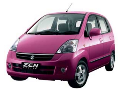 A Dutch research shows that pink coloured cars are not stolen at all as compared to white, black, grey of blue coloured cars