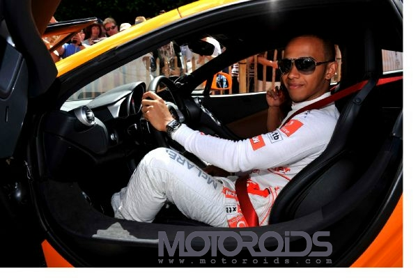 Mclaren MP4-12C makes its global debut at the GoodWood Festival of Speed 2010