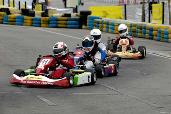 National Karting challenge in Hyderabad: Arjun Maini and Abhirath Shetty of Red Rooster Racing shine