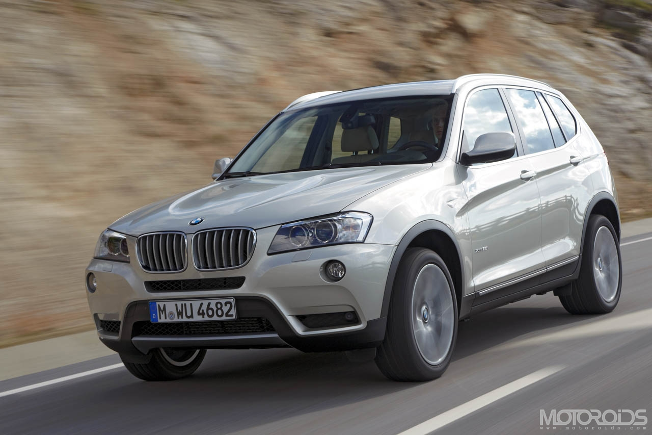 2011 BMW X3 (F25) has been unveiled; coming to India in the first quarter of 2011. More details, specs and prices on Motoroids.com