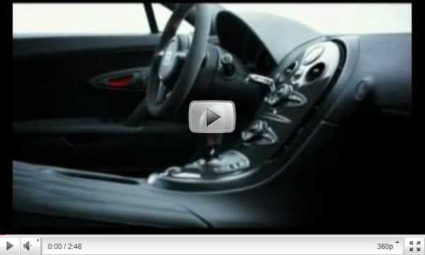 Official video of the Bugatti Veyron 16.4 Super Sport 1200hp