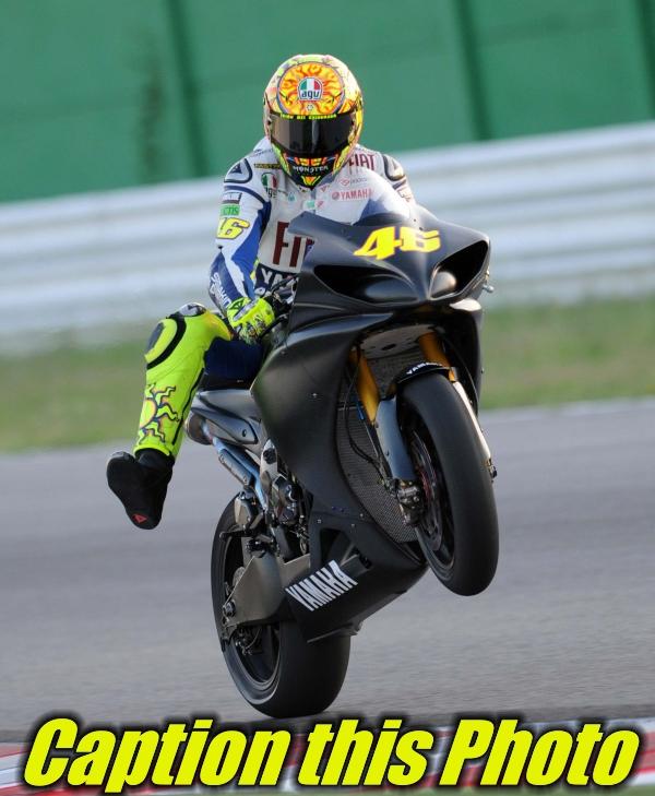 Motoroids presents 'Caption This Photo' - Valentino Rossi returns to MotoGP at Sachsenring