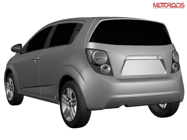 Rendered images and details on launch date, pricing and availability of the 2011 Aveo U-VA and Aveo sedan for India - www.motoroids.com