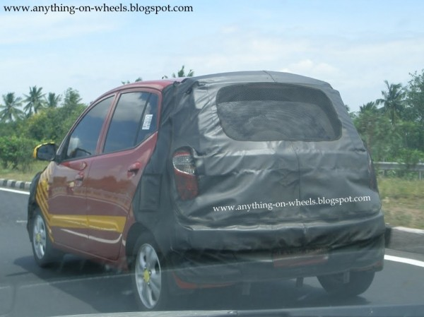 Hyundai i10 Facelift spy picture