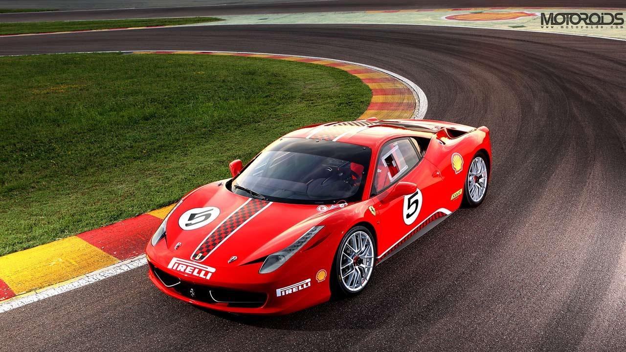 Ferrari has unveiled the '458 Italia Challenge', a race bred version of the 458 Italia for the 2011 'Ferrari Challenge Trofeo'
