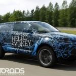 Land Rover Evoque prototypes say Hello to the world; no 'Namaste New Delhi' yet