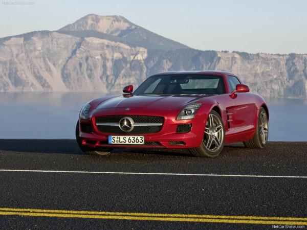 Mercedes Benz SLS AMG India