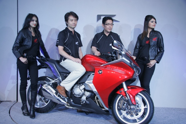 Honda VFR1200F India launch