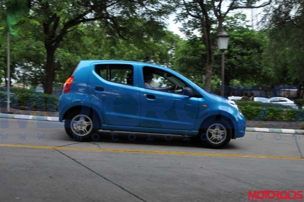 First drive impressions / road test / review of the Maruti suzuki A-star automatic