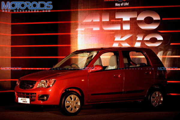 2011 Maruti Suzuki Alto K10 with 1.0-litre K-series engine, launched in India. Prices, specs, photos, videos, details and all other info on Motoroids.com!