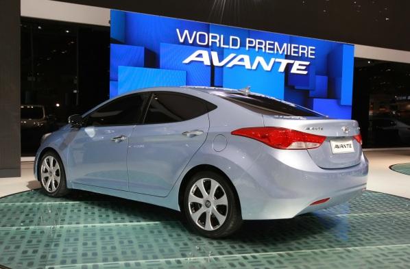 2011 Hyundai Elantra Avante