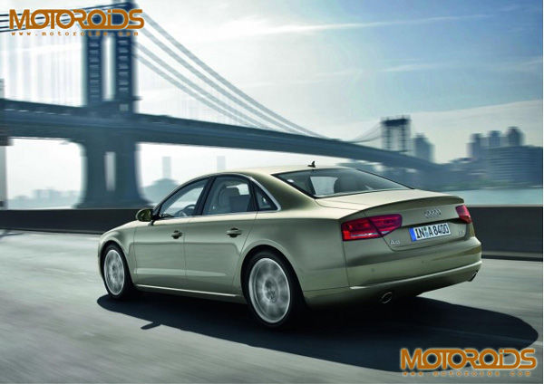 Price, Specifications and Details of the 2011 Audi A8 which will be launched in India by Diwali this year - www.motoroids.com