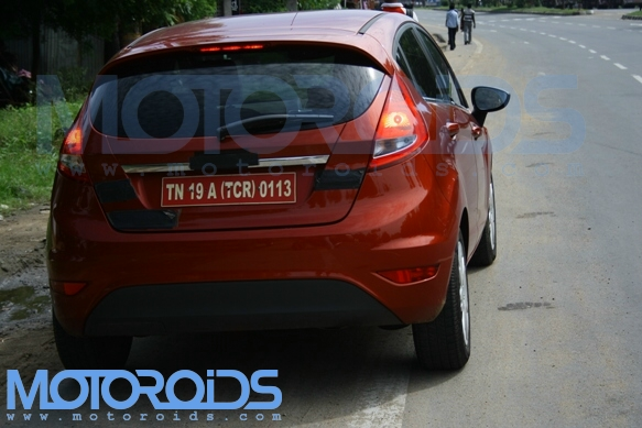 Ford Fiesta hatchback spy pictures