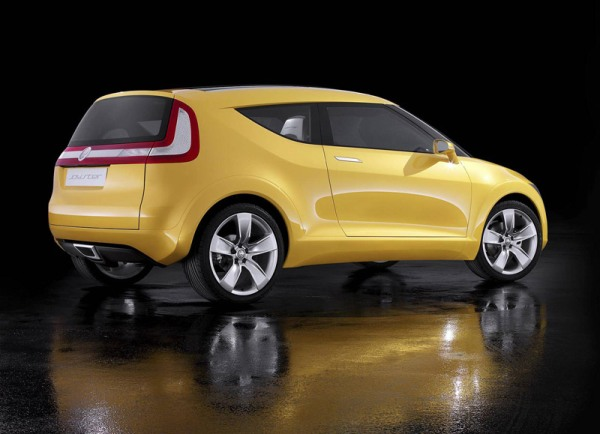 Skoda Joyster based on the VW up