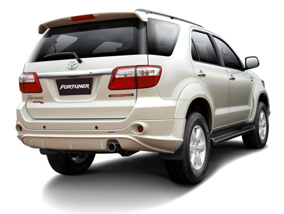 Toyota Fortuner special anniversary edition