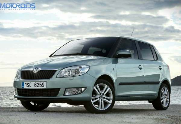 New Skoda Fabia Official Sketch