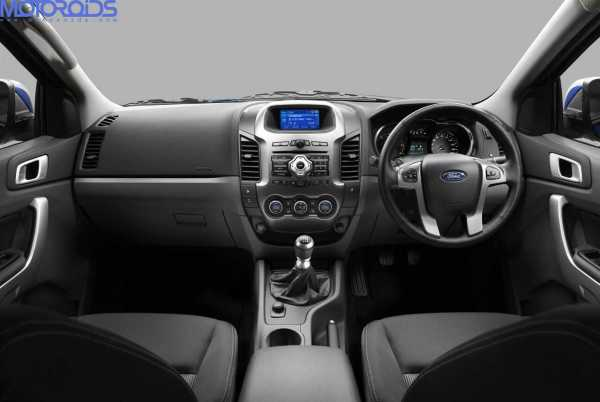 2012 new Ford Endeavour SUV - Ford ranger interior