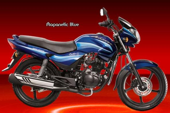 Hero Honda Chiever Magnetic blue