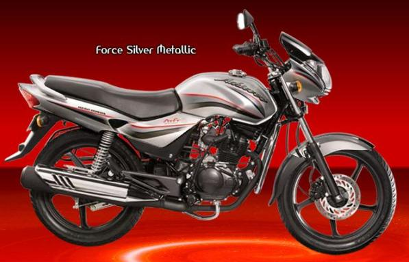 Hero Honda achiever Force silver metallic