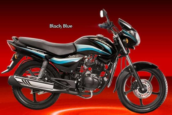 Hero Honda achiever black blue