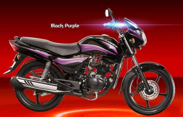 New Hero Honda Achiever black purple